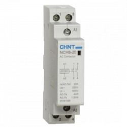 Kontaktorius 20A 1N/O+1N/C 230V