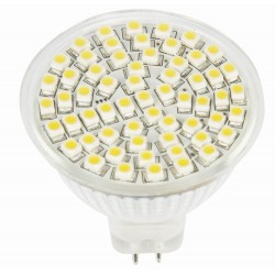 LED lemputė MR16-60SMD 3.0w 270lm