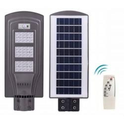Gatvės šviestuvas 60W su saulės baterija