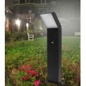 Pastatomas LED lauko šviestuvas su jutikliu - Black 12W 50cm