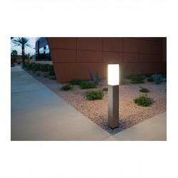 Pastatomas LED lauko šviestuvas su jutikliu - Silver 45cm E27