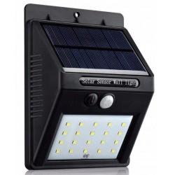 Šviestuvas su saulės baterija ir judesio davikliu 20xSMD