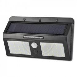 Šviestuvas su saulės baterija ir judesio davikliu 40xSMD