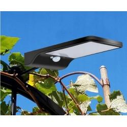Šviestuvas su saulės baterija ir judesio davikliu 36xSMD