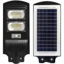 Gatvės šviestuvas 100W su saulės baterija+valdymo pultas