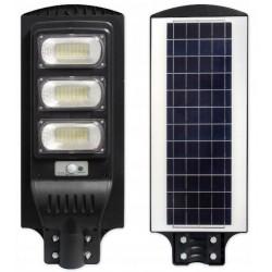Gatvės šviestuvas 150W su saulės baterija+valdymo pultas