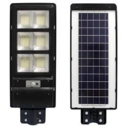 Gatvės šviestuvas 270W su saulės baterija+valdymo pultas
