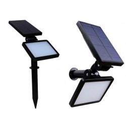 LED prožektorius su saulės baterija