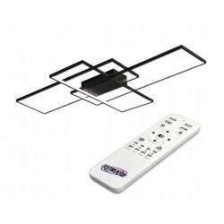 LED lubinis šviestuvas 130W 105x50x8cm Black