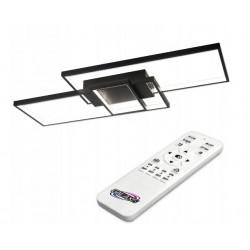 LED lubinis šviestuvas 90W 83x36x8 cm Black