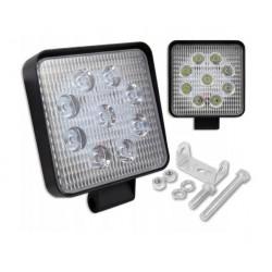 LED darbo šviestuvas 10-30V 27W 9LED