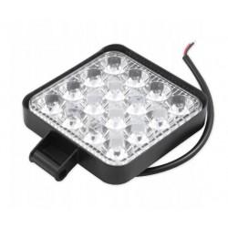 LED darbo šviestuvas 10-30V 48W 16LED