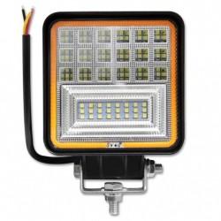 LED darbo šviestuvas 10-60V 126W su posūkio rodikliu
