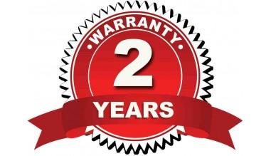 2 metai garantija